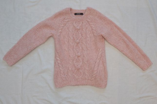 Тёплый свитер на девочку рост 110-116 см