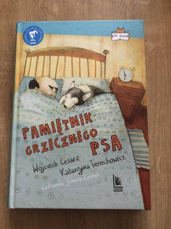 """Książka """"Pamiętnik grzecznego psa"""" wyd. Literatura"""