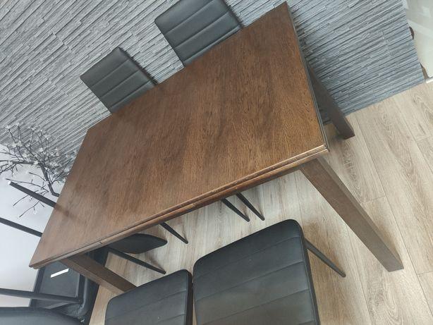 Stół drewniany rozkładany 120/200x80