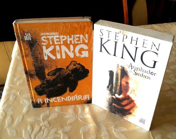 Stephen King - Incendiária/Apanhador Sonhos (edição SUMA LETRAS) NOVOS