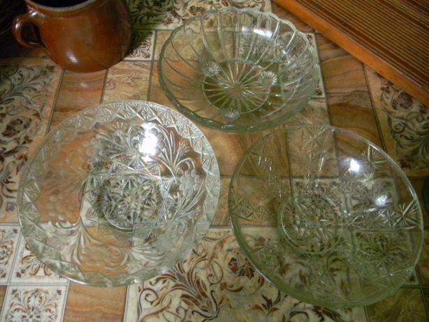 3 misy szklane z prlu