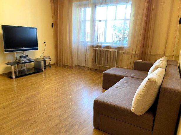Двухкомнатная квартира с ремонтом, тихий ЦЕНТР