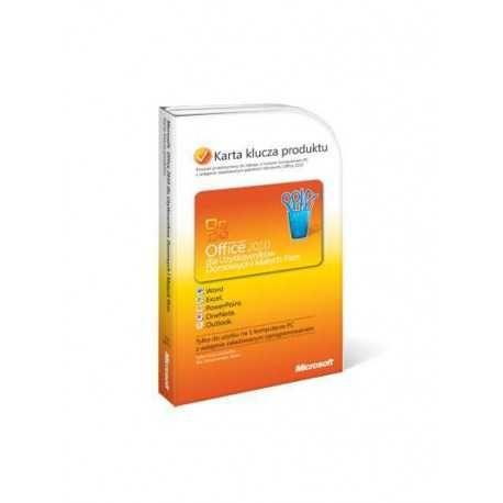 Microsoft office 2010 dla użytkowników domowych i małych firm
