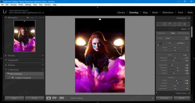 Trabalhos em Photoshop e Lightroom