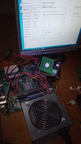 Computador desktop Intel CoreDuo, 6Gb Ram, HDD, Monitor