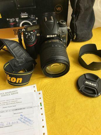 Nikon D 7000 + kit 18-105mm vr ( ідеальний стан )