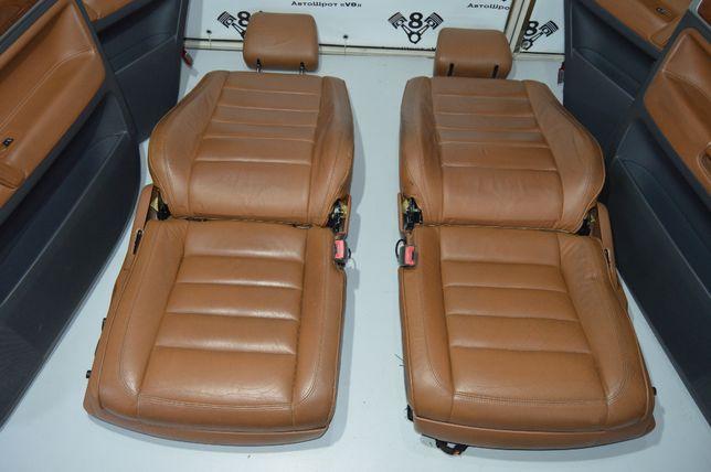 VW Touareg салон шкіра електро туарег таурег