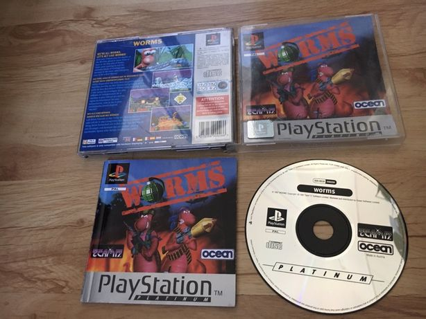 WORMS *** Psx/Ps1