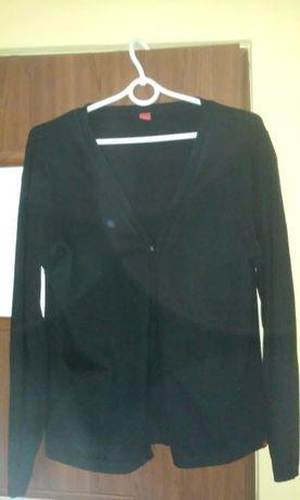 Czarny sweterek, kardigan M