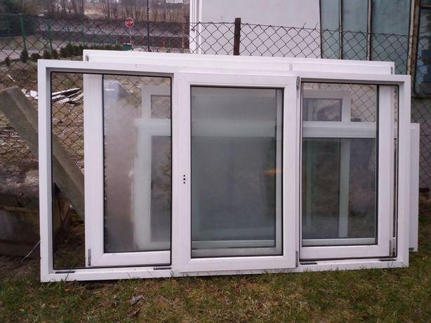 Sprzedam okno PCV kolor biały 240 x 132