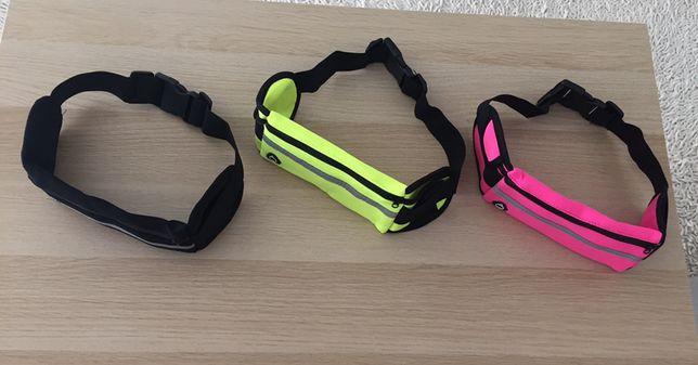 Bolsa de cintura para desporto (corrida, caminhada, ginasio, ciclismo)