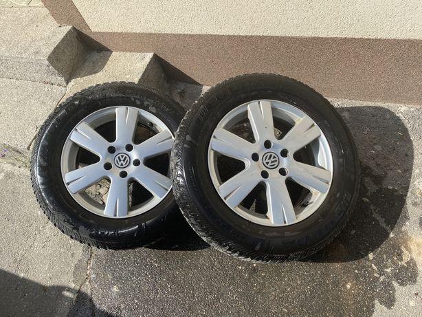 Диски с зимней резиной r16 VW Tiguan