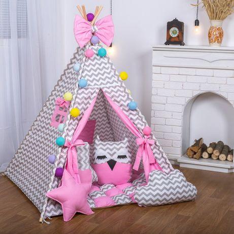 Детская палатка вигвам халабуда домик