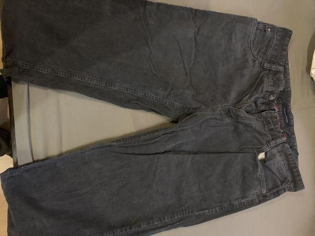 Spodnie sztruksowe TH Tommy Hilfiger