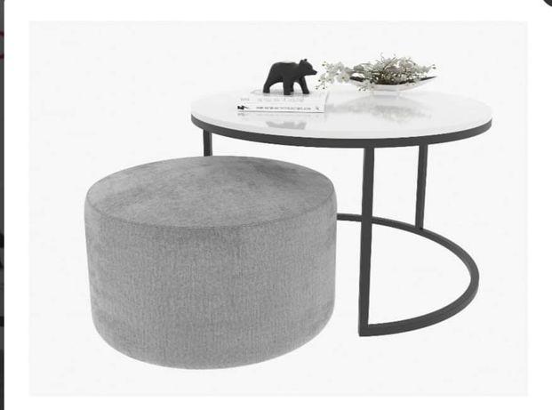 Okrągły stolik kawowy 80cm - Nowy