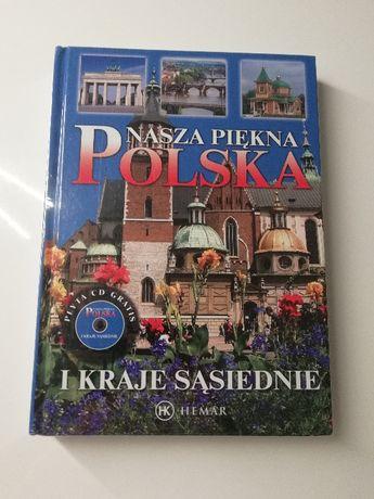 Album fotograficzny Nasza piękna Polska i kraje sąsiednie + CD - folia