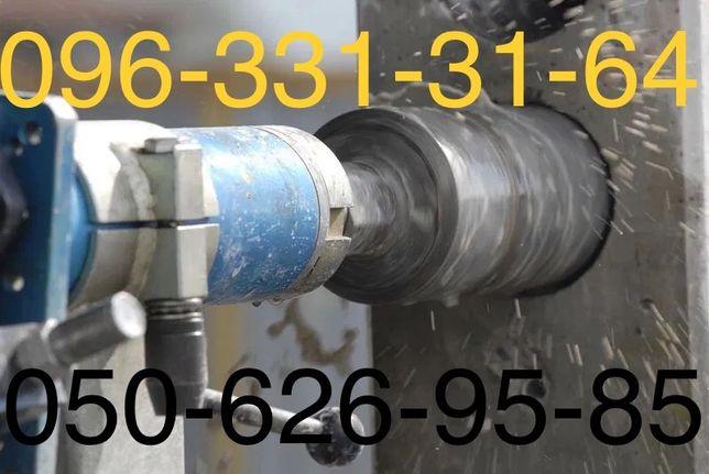 Сверління отворів сантехніка опалення вода каналізація