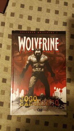 Banda desenhada Wolverine Jogo sangrento