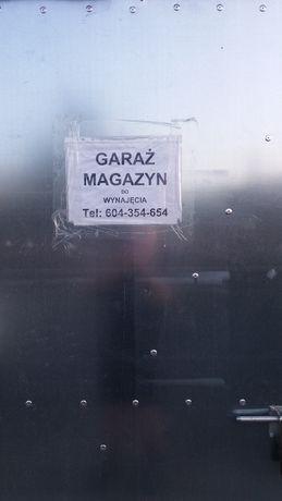 Magazyn ,GARAZ na os. J.P.II od ul.Wysockiej