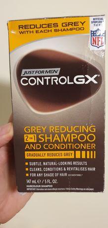 Usuń siwe włosy- grey reducing shampoo