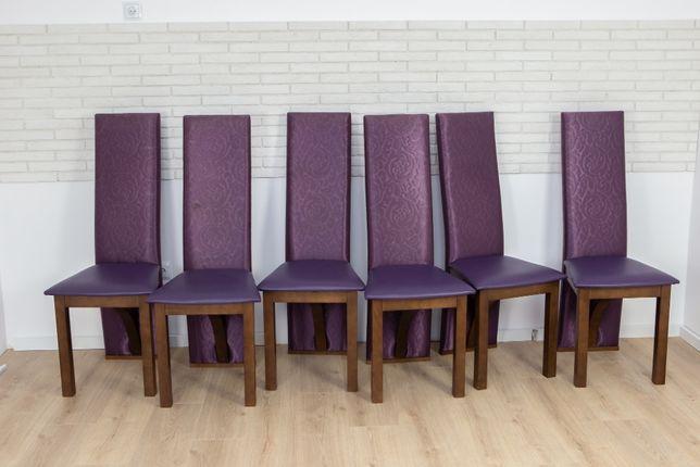 krzesła do jadalni 6 szt Veridi Divani