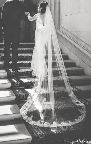 Suknia ślubna w stylu glamour
