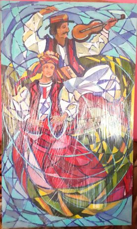 Картина ''Гуцули'' 95*160