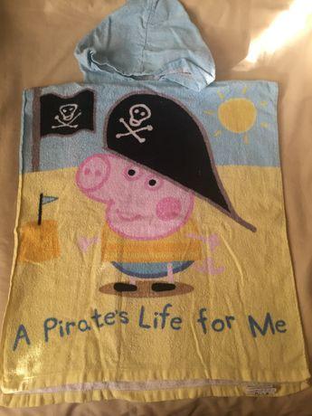 фирменные полотенца-пончо с капюшоном