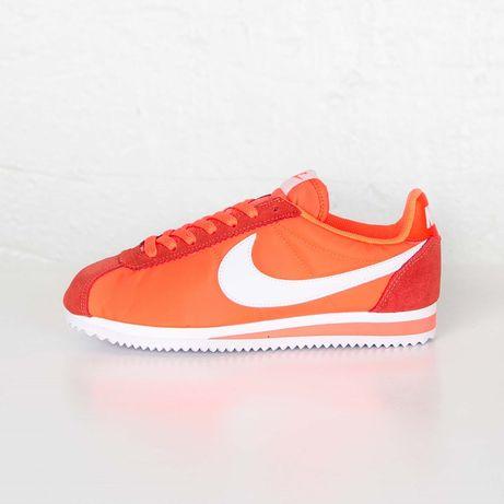 Кроссовки Nike Classic Cortez Nylon Crimson (New Balance Reebok Adidas