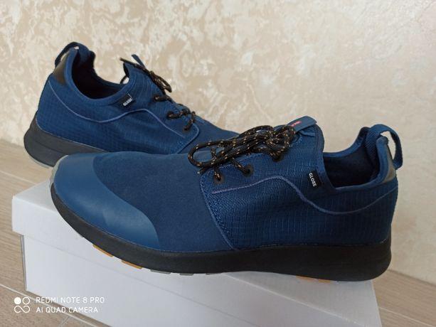 Globe новые кроссовки синие оригинал кожа+ткань