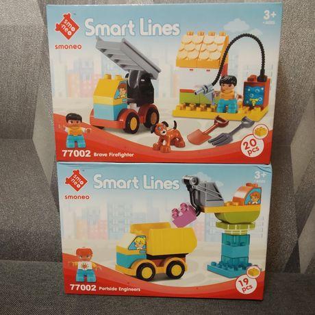Конструктор самосвал, грузовик, пожарная машина аналог Lego Duplo