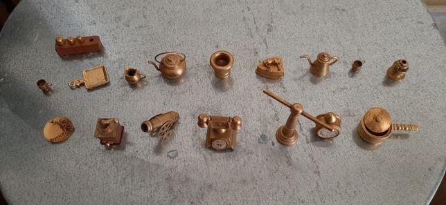 Miniaturas em Latão