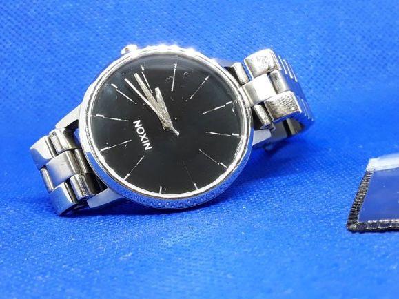 Klasyczny Zegarek Nixon Kensington Black Unisex od lombAArd