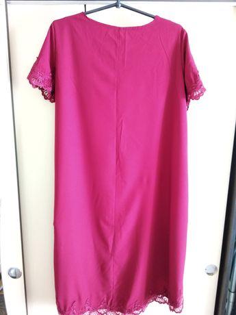 Платье новое бордо с удлинением сзади
