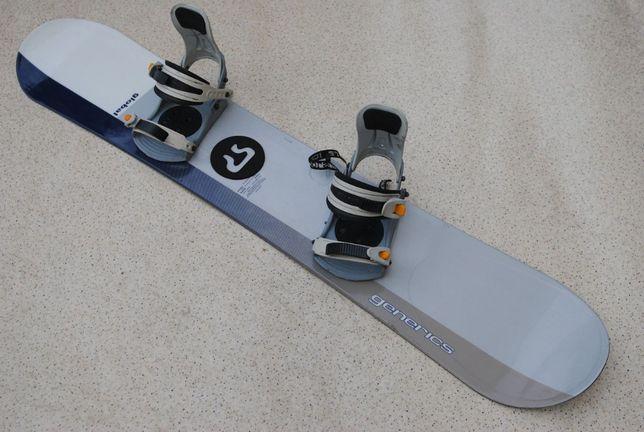 Deska Snowboardowa Snowboard Generics 155 Wiązania SP