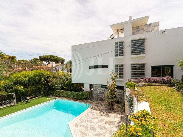 Moradia T5, com terraço, vista mar e rio, piscina e jardi...