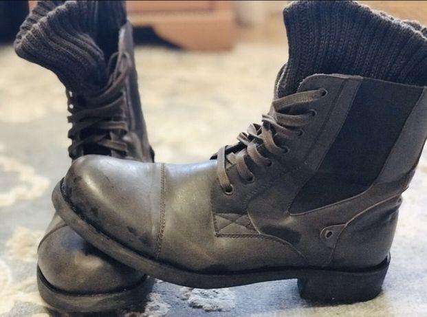 Стильная мужская кожаная обувь