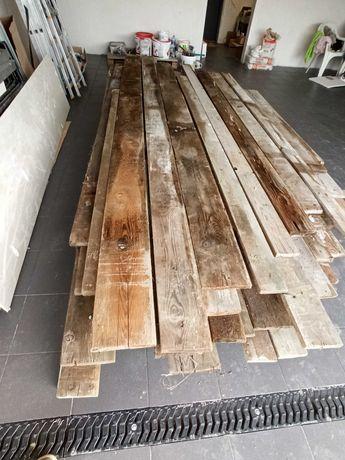 Deski szalunkowe po jednej budowie dł 2-4m