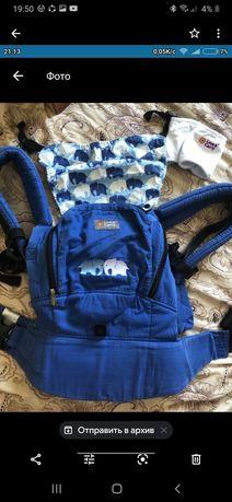 Продам эрго-рюкзак ,кенгуру ,Love&Carry,слинг-рюкзак эргорюкзак