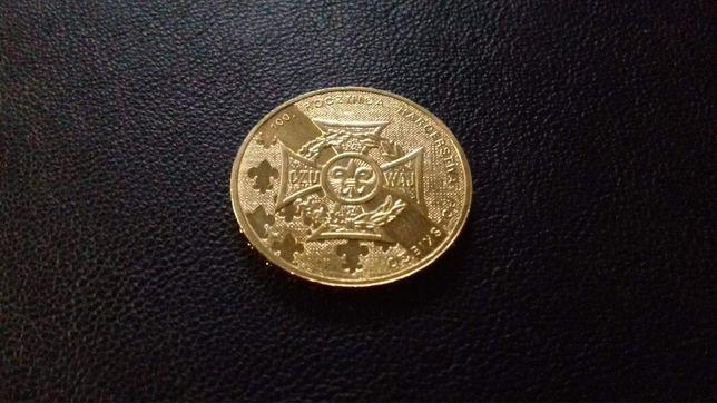 Moneta 2 złote 100 rocznica ZHP