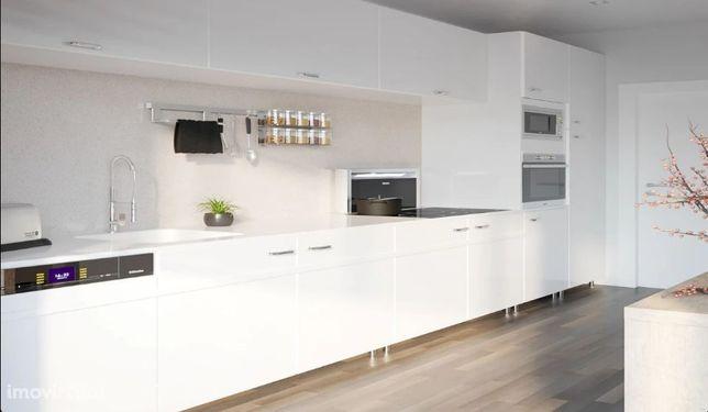 Apartamento T3, urbanização em condomínio privado, vista mar Tavira