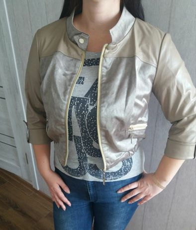 Куртка женская экокожа 46 р