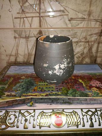Garnuszek gliniany garnek naczynie gliniane z gliny
