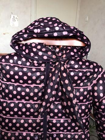 Зимова куртка, пуховик, куртка для дівчинки