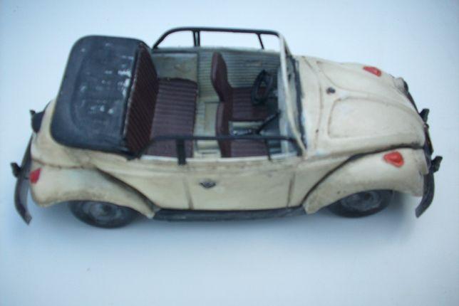 Metalowy model samochodu VW Garbus