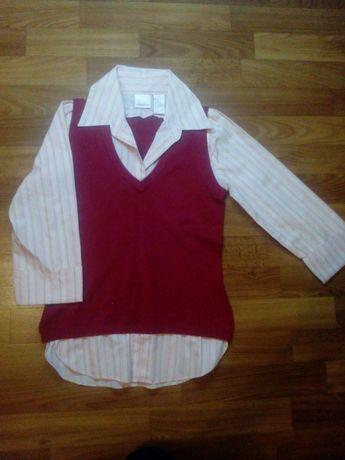 Блуза для школы для девочки-подростка