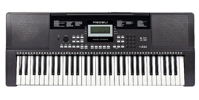 Medeli M311 keyboard z dynamiczną klawiaturą M-311 jak Kurzweil