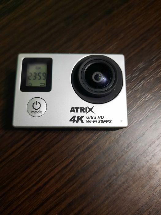 Экшн камера. Неуступает Go pro. Видеокамера. 4k. Atrix. Одесса - изображение 1
