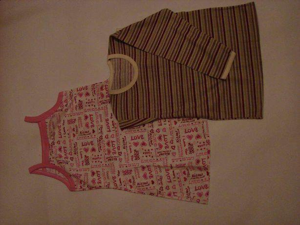 Sukienka i bluzka rozmiar 104 NOWE z metką