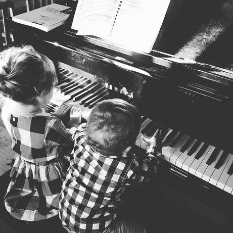 Nauka gry na pianie keyboardzie korepetycje kształcenie słuchu rytmika